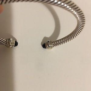 David Yurman Jewelry - David Yurman 5mm black onyx bracelet